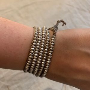 New Gold Chan Luu 5 Wrap Bracelet